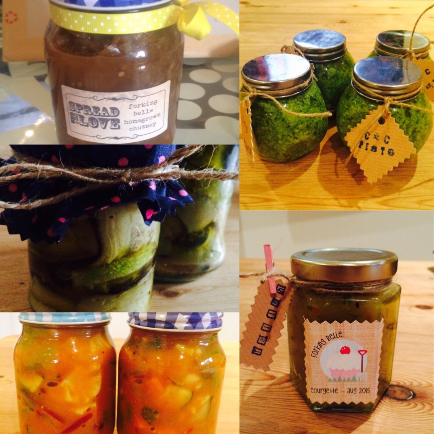 Courgette preserving recipes